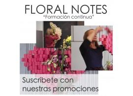 Suscripción Anual Floral Notes