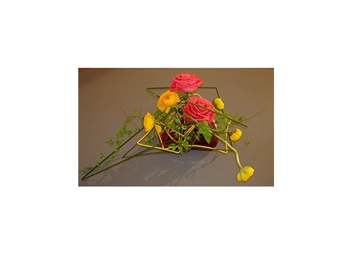 Cursos semipresenciales maestro de taller de floristería: 110 h